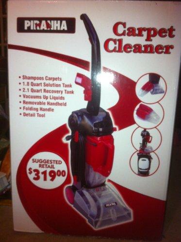 amazoncom piranha carpet cleaner extractor shampooer carpet steam cleaners