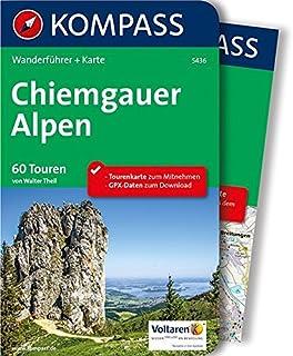 Chiemgau Berchtesgadener Land: Großer Wanderatlas mit 120