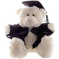 Teddy & Friends Bear Cream Graduation 28CM Soft Toys