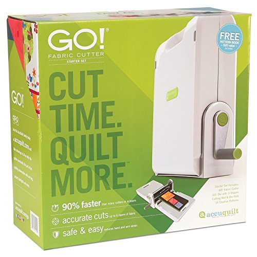 AccuQuilt GO! Fabric Cutter Starter Set (Quilt Cutting Machine compare prices)