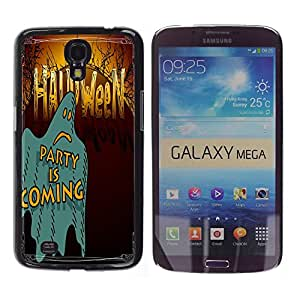 Dragon Case - FOR Samsung Galaxy Mega 6.3 - Have a Happy Hallowen - Caja protectora de pl??stico duro de la cubierta Dise?¡Ào Slim Fit
