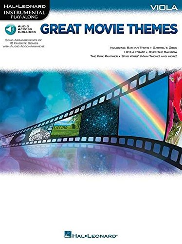 Great Movie Themes: for Viola Instrumental Play-Along