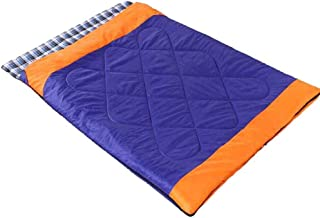 Sweety Sleeping Bag Detachable Triple Flannel Widened Thickened Double Sleeping Bag Indoor Outdoor 220 * 150cm