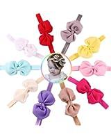 ROEWELL® Baby's Headbands Girl's Cute Hair Bows Hair bands Newborn headband