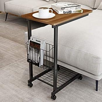 Amazon Com Kktoner Sofa Side Table Slide Under Height