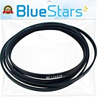 Ultra Durable WE12X82 Dryer Belt Replacement Part by Blue Stars - Exact Fit for GE Hotpoint Dryer - Replaces WE12X0042 WE12X0082 WE12X42