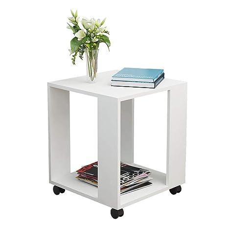 Amazon.com: Mesa pequeña simple para apartamento/sala de ...
