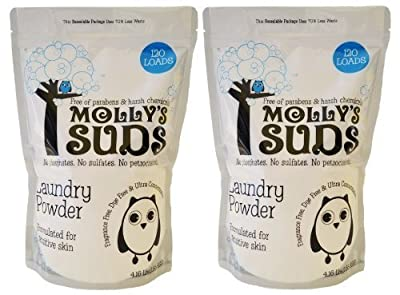 Molly's Suds All Natural Laundry Powder 120 Loads - SET OF 2