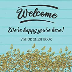 This visitor's guest book is the ideal way for your guests to leave you feedback, share their memories & experiences and leave great recommendations & ideas for future guests. This guest book is perfect for vacation homes, beac...