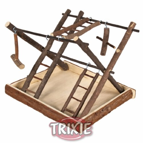 Trixie 5663 Natural Living Spielplatz, 35 × 27 × 30 cm