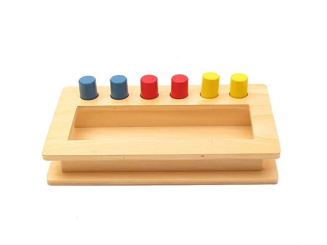 Montessori Toddler Imbucare Peg Box