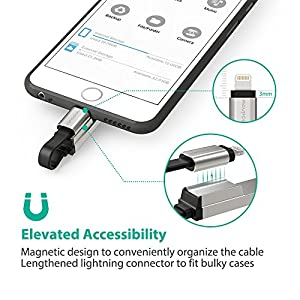 iPhone iPad 64GB USB Flash Drive 3.0 with Charging Support, RAVPower Pen Thumb Jump Drive with Extended MFi Lightning Connector for iOS Mac Windows PC, External Storage Memory Expansion Stick