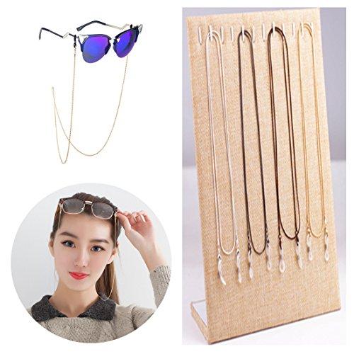 Kalevel Eyeglass Chain Fashion Stylish Glasses Sunglasses Chain Eyeglass Chains and Cords For Women - Sunglasses Clip Magnetic Cool