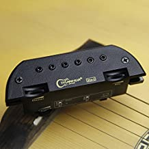 Skysonic Pro-1 Soundhole Dual-coil Magnetic Acoustic Folk Guitar Pickup for Professional Playing