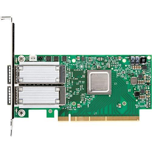Mellanox Technologies MCX516A-CCAT_FF CONNECTX 5 EN NETWORK INTERFACE CARD, 100GBE DUAL-PORT QSFP28, PCIE3.0 X16, TALL
