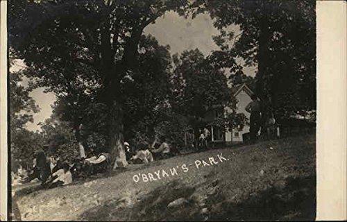 Summertime At O'Bryan's Park Events Original Vintage Postcard from CardCow Vintage Postcards