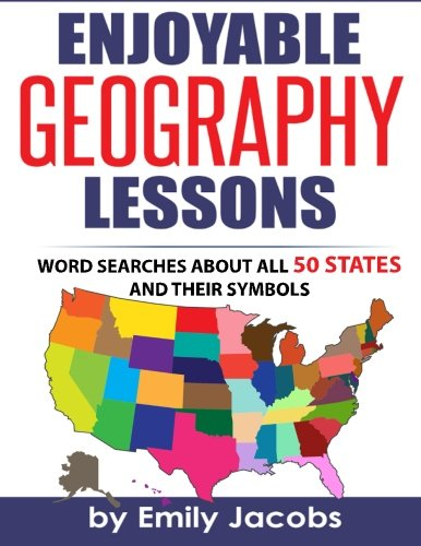 Enjoyable Geography Lessons Word Searches About All 50 States And