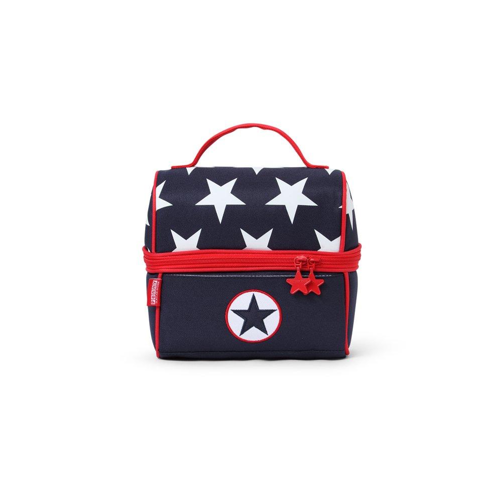 Penny Scallan lupnas Lunch Pail Navy Star Mini borsa frigo
