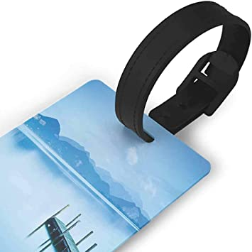 2 Pack Luggage Tags Constellation Aquarius Cruise Luggage Tag For Travel Tags Accessories