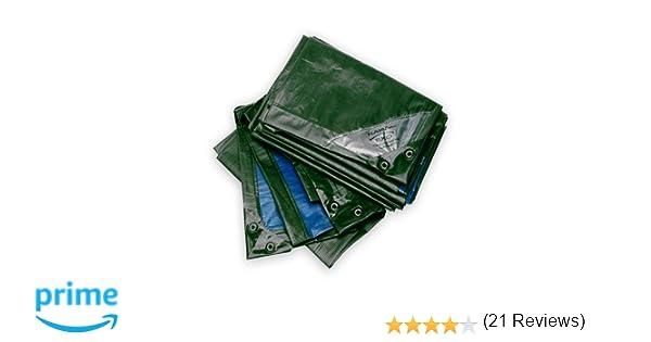 Bio Green Lona Rainexo súper Resistente, Verde/Azul, 4x6m