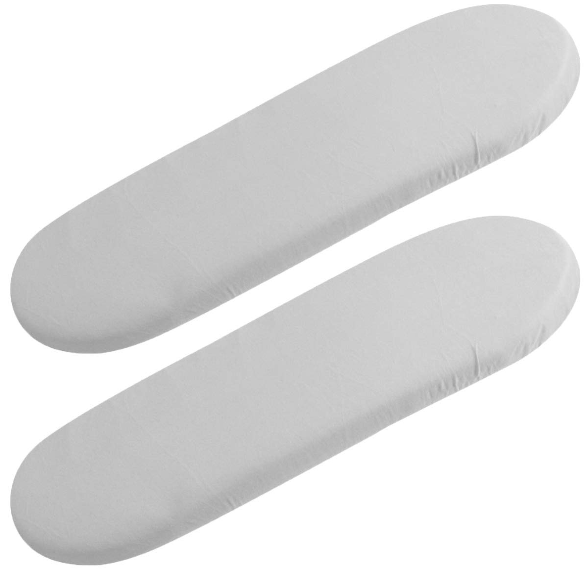 FYLO Fitted Cotton Moses Basket Sheets White Star Pack of 2