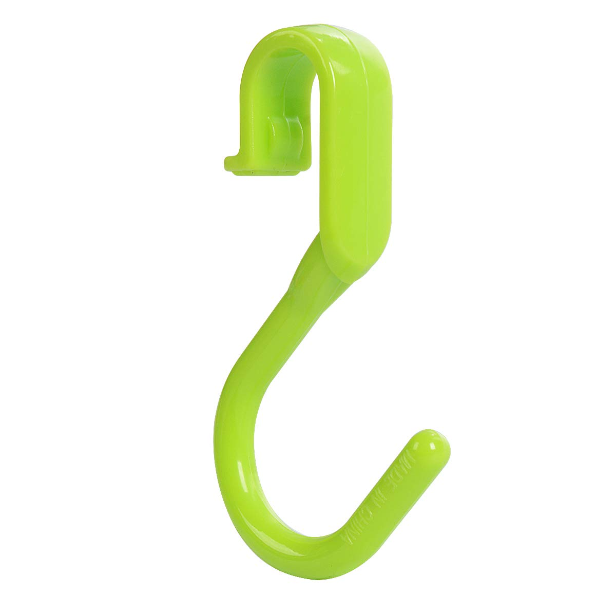 Plastic Small Home Storage Hooks for Kitchen Bathroom Garage Gadget 30Pcs Green Saim S Hooks Utility Hooks Hangers for Hanging Kitchenware Spoons Clothes Bags Keys