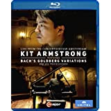 Kit Armstrong Performs Bach's Goldberg Variations and it's Predecessors [Blu-ray]