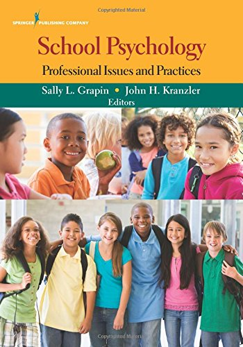 School Psychology Professional Issues Practices product image