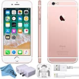 Apple iPhone 6S Factory 4G LTE Unlocked GSM Smartphone (Certified Refurbished) (Rose Gold, 16GB)