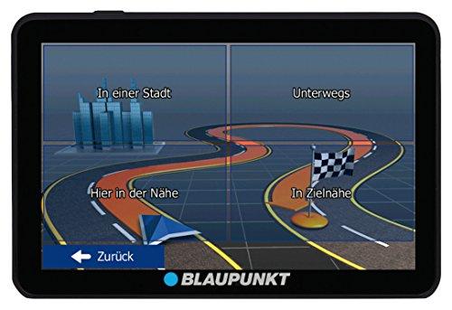 Blaupunkt TravelPilot 74 EU LMU - Navigationssystem mit 17,5 cm (7 Zoll) Display, Bluetooth Freisprecheinrichtung, Kartenmaterial Europa, lebenslange Karten-Updates*, TMC Stauumfahrung, Fahrspurassistent