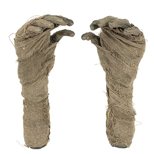 Mummy Hand Ground Breaker, Halloween Party Accessory Prop/Room Decoration (Mummy Decorations Halloween)