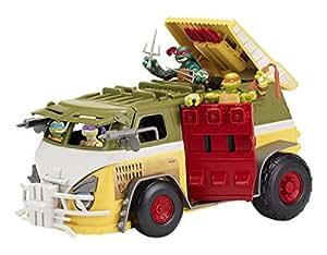 Tortugas Ninja - Vehículo Turtle Van con figura (Giochi Preziosi 94425)