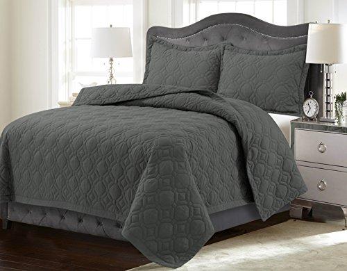 steel blue comforter - 8