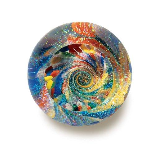 Hand Blown Glass Starburst (Fireball Glass)