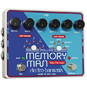 Electro Harmonix Deluxe Memory Man Tap Tempo