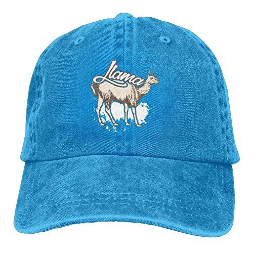 Llama béisbol Hats Denim Adjustable Gorras ruishandianqi Rainbow Hat Baseball Male Washed xgtcq