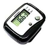 Baost LCD Pedometer Step Calorie Kilometer Counter Walking Distance Smart Pedometer Pocket Clip for Step Distance Counter Fitness Tracker