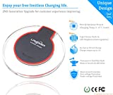 iPhone Wireless Charger Kit, LANIAKEA Qi Wireless Charging Set with Qi Receiver(Lightning Port) for Apple iPhone 7/7 Plus /6/6S Plus /5/5S/SE