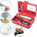 Electric Mini Hand Drill Set for Jewelry Polishing, Around House DIY and Hobby Craft Projects, Small Micro Power Drill Grinder Rotary Tool Kit