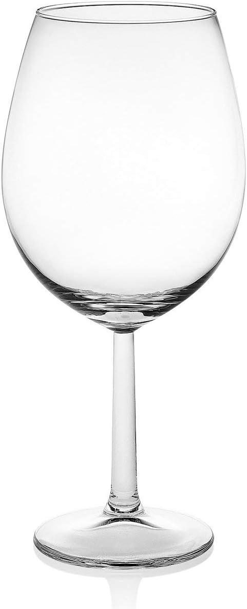 Trasparente Royal Leerdam 606027 Confezione 6 calici in Vetro vinissimo cl57 Arredo tavola
