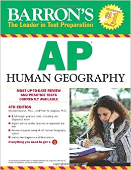 Barron's AP Human Geography, 4th Edition (Barron's Study Guides)
