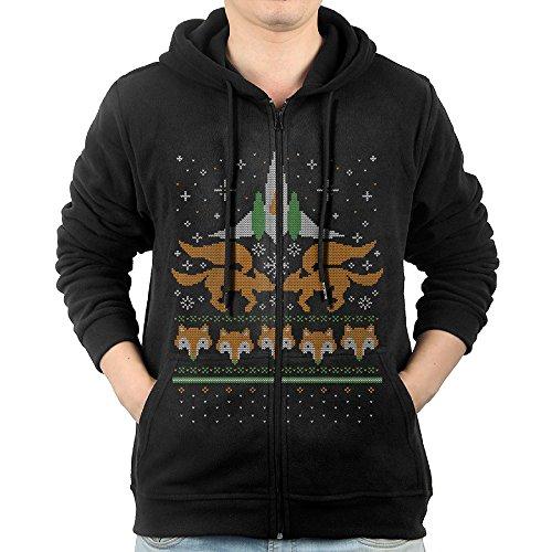 Men Foxy Threads Hoodie Sweatshirt -