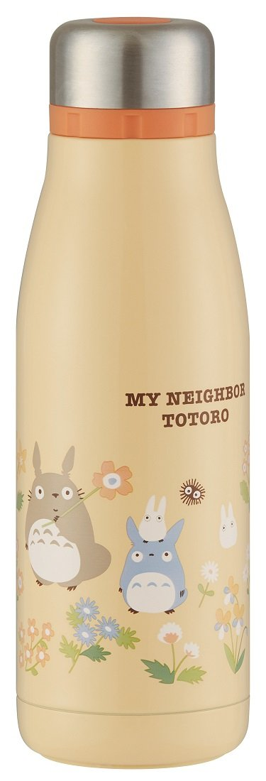 Ghibli My Neighbor Totoro Flower stylish stainless steel bottle From Japan New
