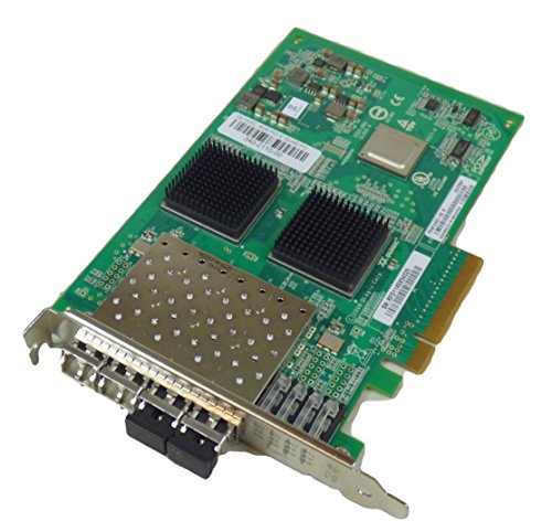 (QLogic QLE2564 Fibre Channel Host Bus Adapter. 8GB Quad Port FC HBA PCIE8 LC MULTIMODE Optic FIBR-C. 4 x LC - PCI Express 2.0-8 Gbps)