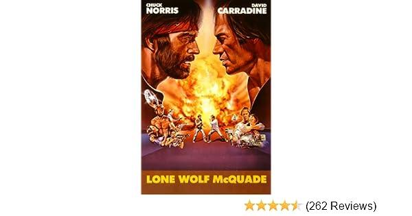 Amazon Lone Wolf Mcquade Chuck Norris David Carradine