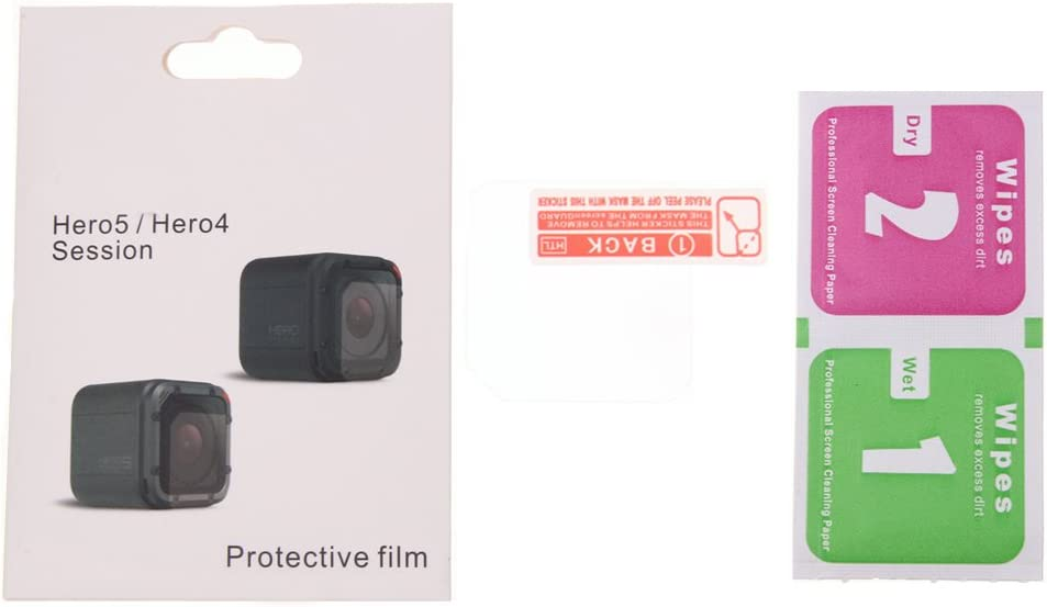 Deylaying 1Pcs Lens Protector Film for GoPro Hero 5//4 Session Action Camera HD Protector Film Anti-scratch Lens Screen Protective Film Accessories