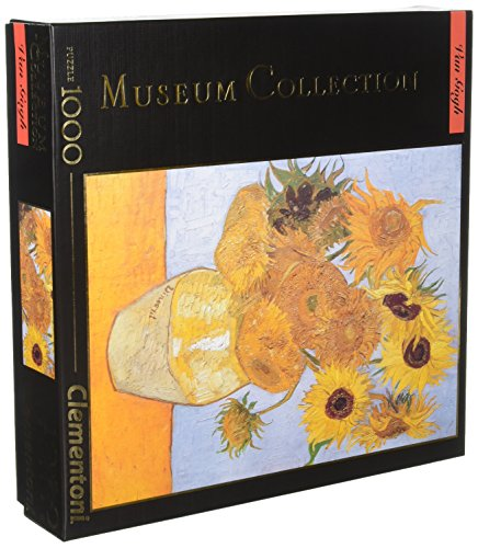 Clementoni Museum Collection Van Gogh Sunflowers Jigsaw for sale  Delivered anywhere in USA