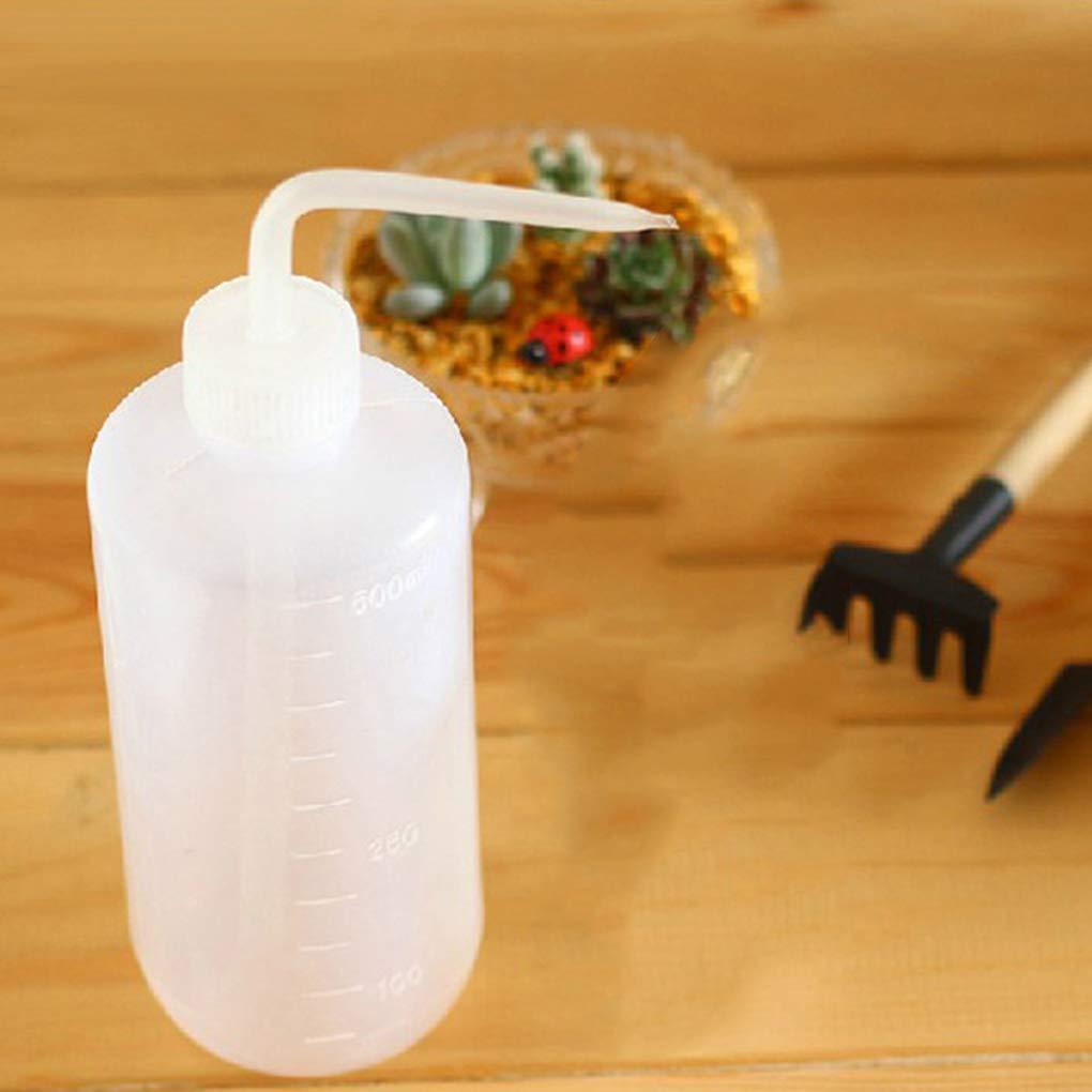 Kineca 500ml White Succulent Plants Watering Can Indoor Beak Dropper Flowerpot Plants Water Bottle #1