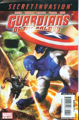 Guardians of Galaxy #6 Comic Book