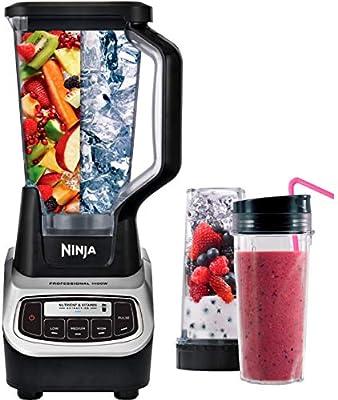 Amazon.com: Ninja BL621 - Vasos profesionales para batidora ...